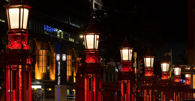 IESANZ Lighting Awards - The Red Fence, Auckland