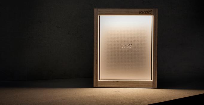 KKDC n-Line Promotional Lamp