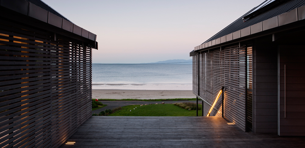Beach Pavilions, Waiheke Island