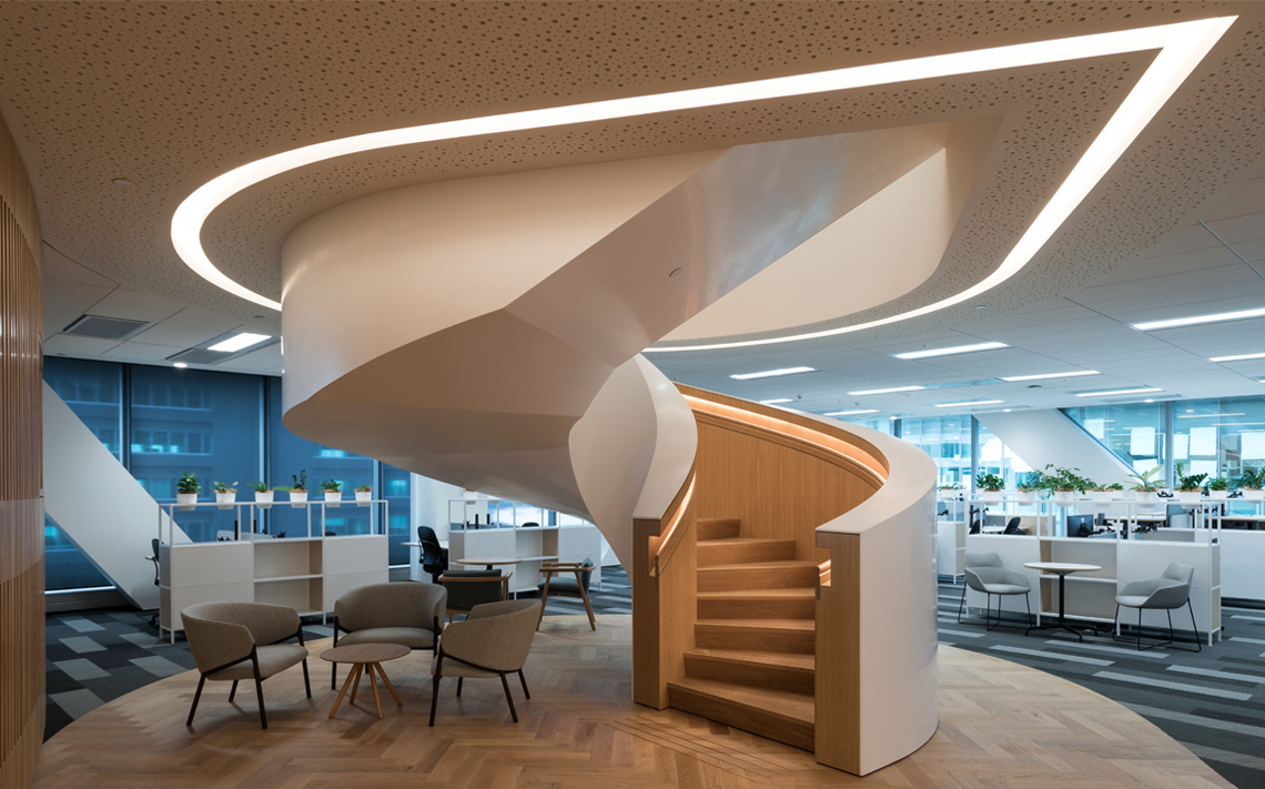 DLA Piper, Commercial Bay, Auckland