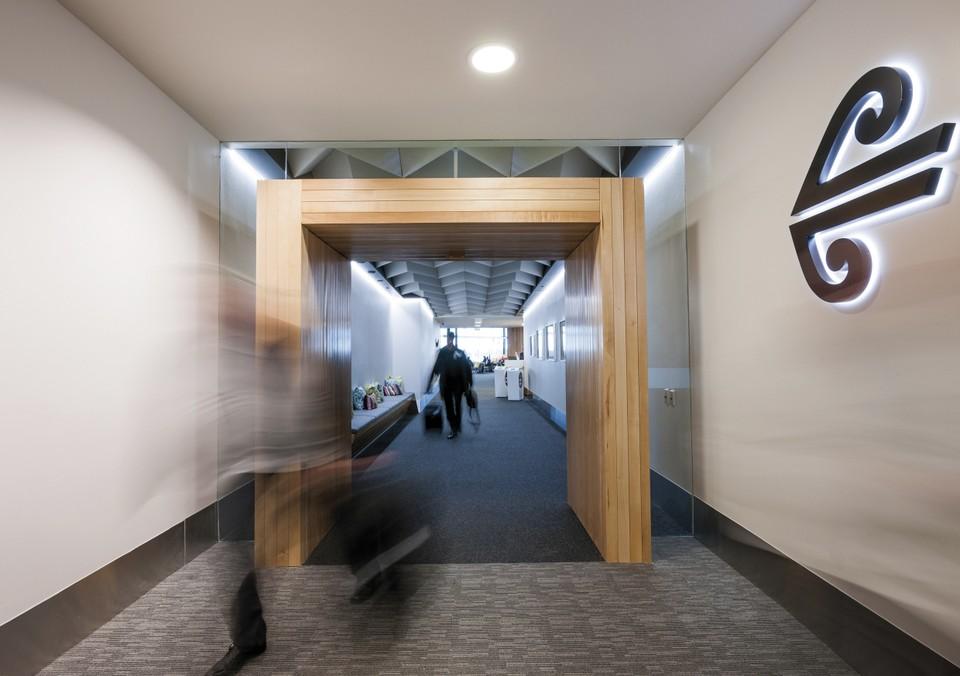 Koru Club Lounge Christchurch airport