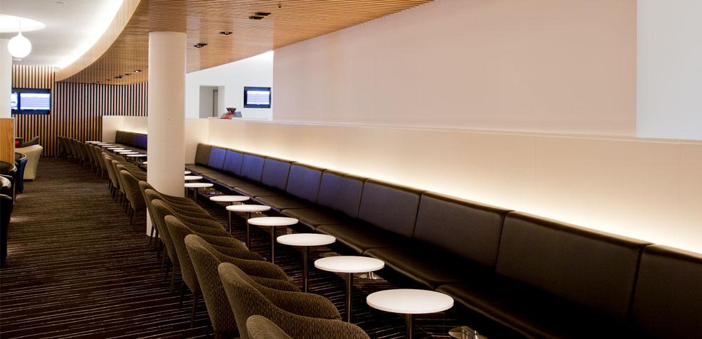 Qantas Lounge, Australia