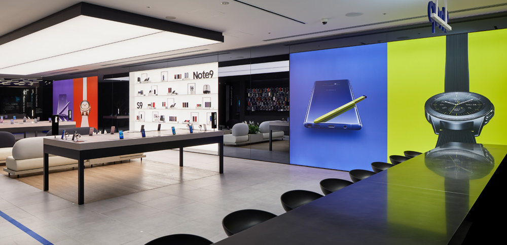 Samsung GALAXY showroom, Harajuku