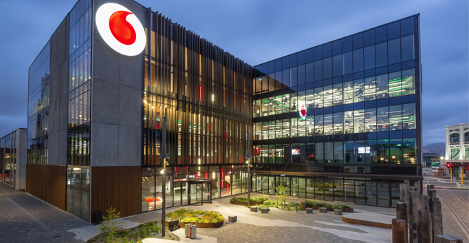 Vodafone, Christchurch, New Zealand